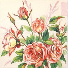 4x Paper Napkins for Decoupage Decopatch Craft Margareth