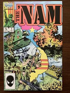 The 'NAM #1 (Marvel 1986) VF/NM Condition.  Mike Golden cover.  Key!
