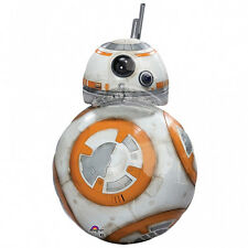 "STAR WARS PARTY SUPPLIES 33"" BB8 THE FORCE AWAKENS SUPERSHAPE ANAGRAM BALLOON"