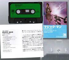 HERB ALPERT Magic Man JAPAN CASSETTE TAPE AMC-28027 w/SLIP CASE+INSERT