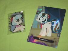 My Little Pony COCO POMMEL Necklace DOG TAG #18 & Foil Trading Card #TC18 Set