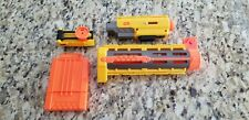 NERF Recon CS-6 Accessories - Clip, Scope, Barrel and Red laser tactical light