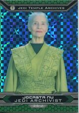 Star Wars Chrome Perspectives II X Fractor Parallel Base Card 25-J Jocasta Nu