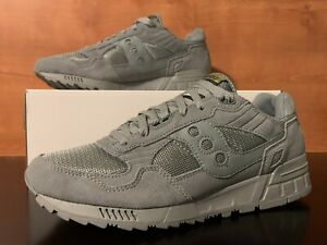 Saucony Shadow 5000 Monument Dove Gray Running Shoes Mens Size 11 S70404-33 RARE