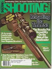 Shooting Times February 1982 Colt Winchester Remington Muzzle Loaders