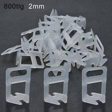 800 St Nivelliersystem Zuglaschen Fliesen 2mm Verlegehilfe Laschen DE