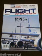 FLIGHT INTERNATIONAL # 5283 - SINGLE AISLE - MARCH 22 2011