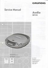 GRUNDIG - Audio CDP 210 - Service Manual Schaltbild - B3242