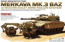 Meng Model 1/35 #TS-005 Merkava Mk.3 BAZ w/Nochri Dalet Mine Roller System