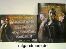 The Hunger Games Movie Trading Card - 1x #001 Hunger Games