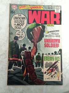 Star Spangled War Stories 151 Nice Comic !! 1st Apearance of Unknown Soldier !!!