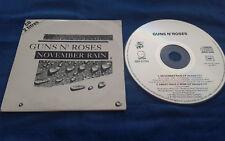 GUNS N'ROSES  November rain + Sweet child o'mine   CD 2 Titres France