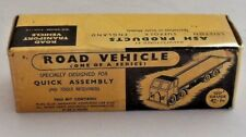 ASH PRODUCTS - ROAD VEHICLES - LL2  LOW LOADER KIT - 00 GAUGE - MINT & BOXED