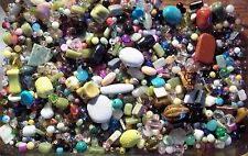 Wholesale Lot of New Assorted Jewelry Supplies- Beads, Findings, Gems, etc 1 lb.