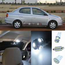 New Premium White Lights SMD Interior LED Package Kit For Toyota Echo 2001-2005