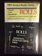Rolls PM55 Battery Powered Personal Monitor Amplifier