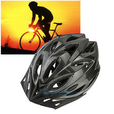 Unisex Adult Road Bike Bicycle Cycling Carbon Safety Helmet Visor Adjustable New