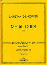 Christian Diendorfer - Metal Clips für Blechbläserquintett