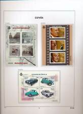 XC50243 Spain 2013 art & cinema old-timer cars sheets MNH