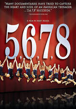 5...6...7...8 (DVD, 2012) Documentary, Jazz Dance, Dancing, Dove Approved, Teen