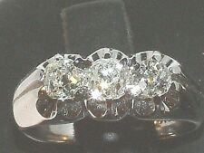 18 Carat Gold Triology Engagment Diamond Ring   1.26 Carats