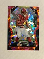 BRYCE LOVE 2019 Panini Prizm RED CRACKED ICE SSP RC REFRACTOR #325! REDSKINS!