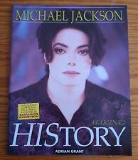 Michael Jackson Making History Book.
