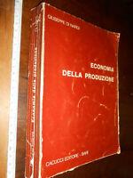 LIBRO - ECONOMIA DELLA PRODUZIONE di Giuseppe Di Nardi