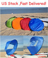 "42"" Portable PVC Downwind Wind Paddle Popup Board Kayak Sail Instant 4 Colors"