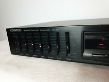 Vintage Kenwood Stereo Graphic Equalizer  GE-291 excellent working condition