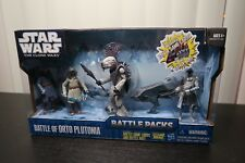 Star Wars Battle Packs - Battle of ORTO PLUTONIA ** NEW & SEALED **