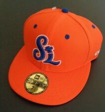 ST LUCIE METS Minor League Baseball New Era 59Fifty Hat 7 1/4 Cap Free Shipping