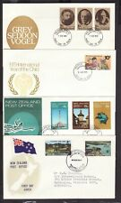 NEW ZEALAND 1969-1979 ILLUSTRATED FIRST DAY COVERS x 4 (L038)