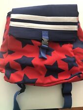 Target Cat And Jack Unisex Red, White, & Blue Backpack Drawstring Bag NWT