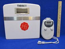 Thinner Scale by Conair Touch Activated & Shower Clock Radio AM FM Lot of 2