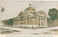 CEDAR RAPIDS IA – Proposed New Memorial Church United Brethren in Christ – udb