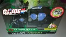 RARE Vintage 2004 GI Joe Valor vs Venom Cobra Hiss Tank w Pit Viper Figure MIB