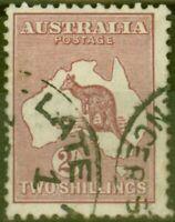 Australia 1929 2s Maroon SG110 Fine Used