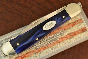 CASE XX USA BLUE PEARL KIRINITE FULL SIZE COPPERHEAD KNIFE 2021 10249 SS 8909-10