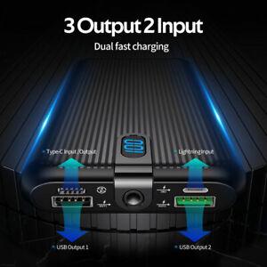 really fast charging digital power bank 20000 mAh PD22.5W high capacity brand