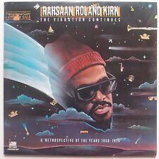 RAHSAAN ROLAND KIRK: The Revolution Continues ATLANTIC ORIG vinyl lp PROMO VG++