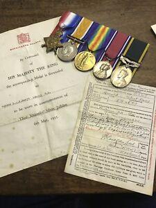 WW1 1914 Star Group RHA Royal Horse Artillery