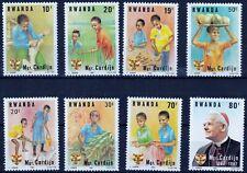 Rwanda 1982 Mich 1234 - 1241 Cardijn MNH