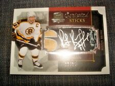 13/14 The Cup Ray Bourque Scripted Sticks Patch Auto /35 WOW