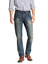 5008-3 Banana Republic Mens Dark Blue Wash Athletic Fit Relaxed Jeans 34W x 34L