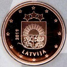 RARE Lettonie 2019 - 5 Centimes X 1 Piece Neuve De Coffret Euro