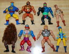 Vintage He-Man Masters of the Universe MOTU 8 Figure Lot, 1980's, Dark Grizzlor