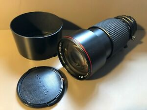 Tokina AT-X SD 80-200 mm f 2.8 Nikon  teleobiettivo luminoso vintage