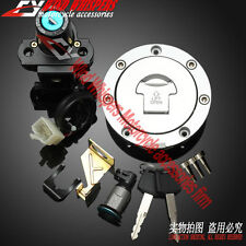 Ignition Switch Gas Cap Cover Key Lock Set For Honda CBR600RR F5 2007-2013 08 09