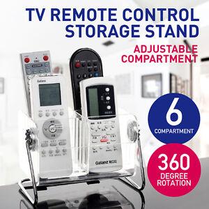 TV Control Holder Caddy Remote Holders Phone Pen Glasses Storage Organiser Box